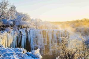 镜泊湖冬季旅游已上线