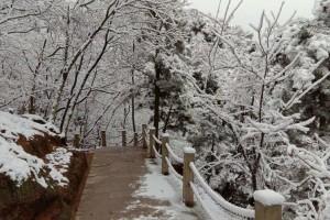 雪后大珠山