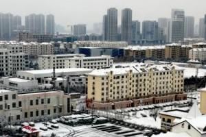 新春首场降雪降临新区