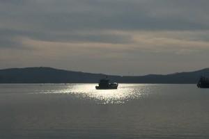 海天一色 渔港景美