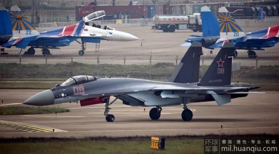 日本飞机在俄罗斯航展