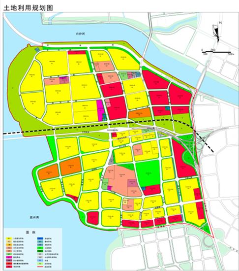 土地利用规划图-城阳流亭街道三大片区规划问世 未来打造多为一体生