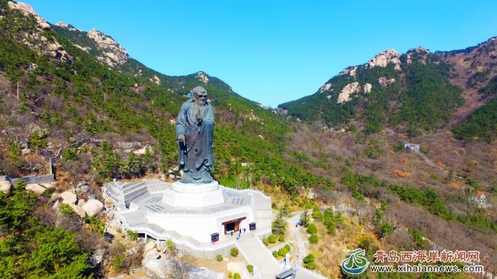 3月12日,青岛崂山风景区美景.(朱博文 王玉 摄影报道)