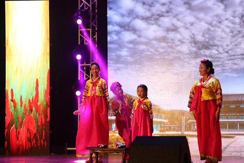 朝鲜族舞蹈《大长今》,维吾尔族舞蹈《新疆吆喝》,蒙古族马头琴演奏等