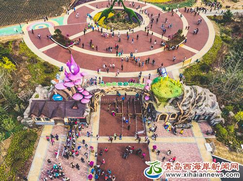 西海岸生态观光园相关负责人介绍,六月儿童季包括首届中国青岛爱索.
