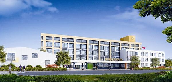 青岛盲校新校一期项目在新区开工