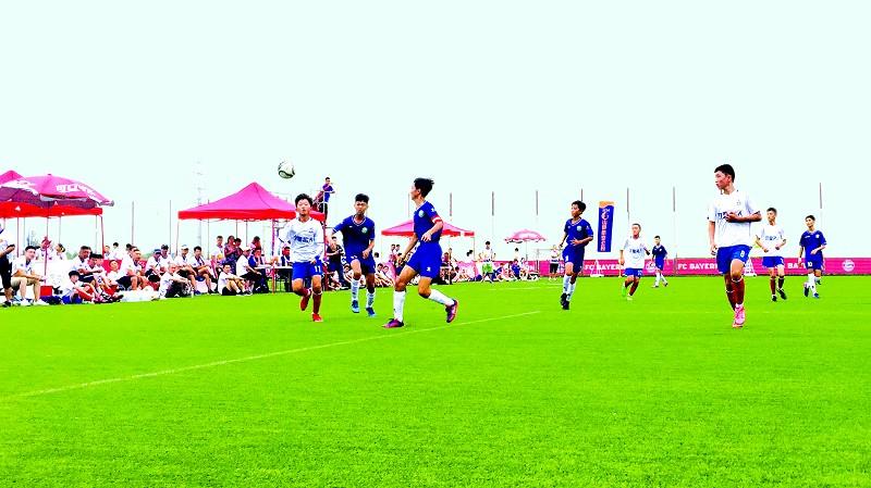 近年来中德生态园相继组织和举办了德中青少年足球邀请赛,拜仁慕尼黑