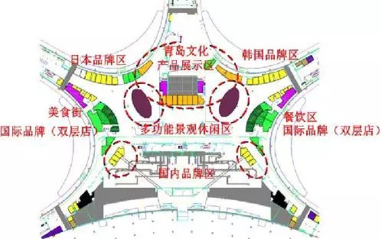 聚焦青岛新机场:3.5万㎡商区 五星酒店 交通零换乘