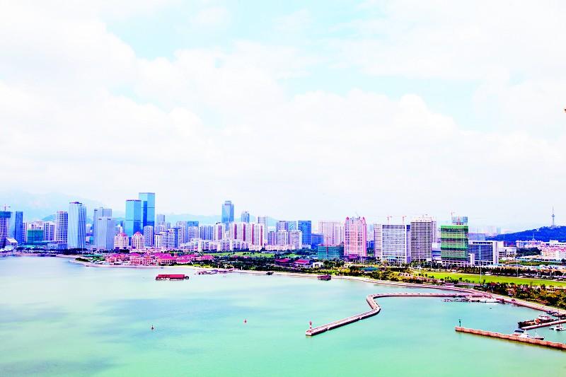 唐岛湾畔美景如画-青岛西海岸新闻网