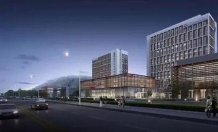 """青岛瑞源中医医院作为青岛西海岸新区政府""""双30""""重点医疗卫生项目,是"""